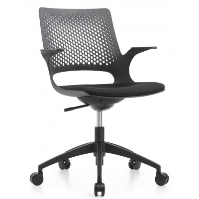 Silla Gerencial Negro Asher