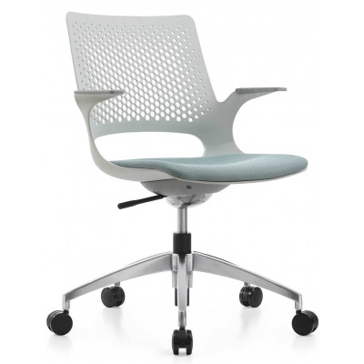 Silla Gerencial Gris Asher