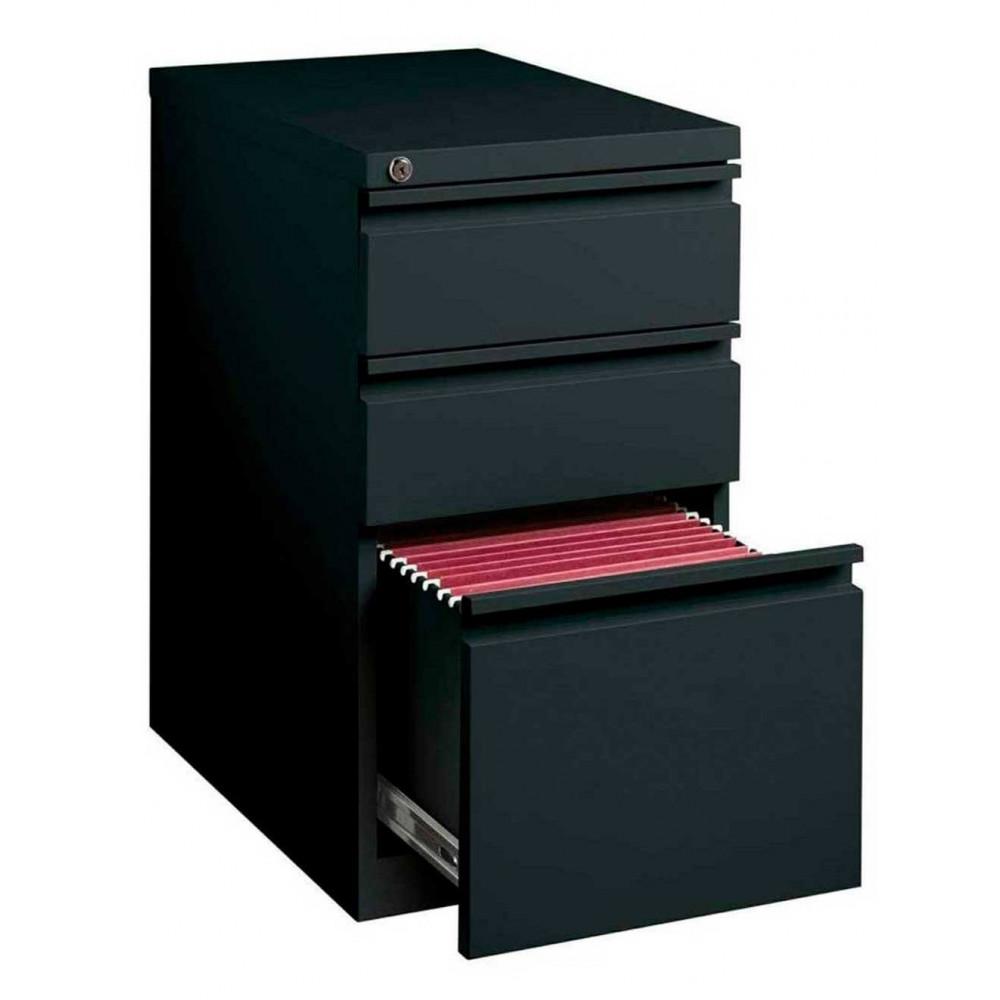 Archivero Pedestal Movil 2 Papeleros y un Archivero Metalico Hirsh