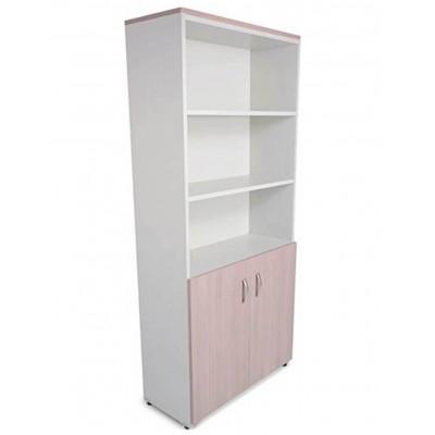 Librero Vertical con 2 Puertas Bajas