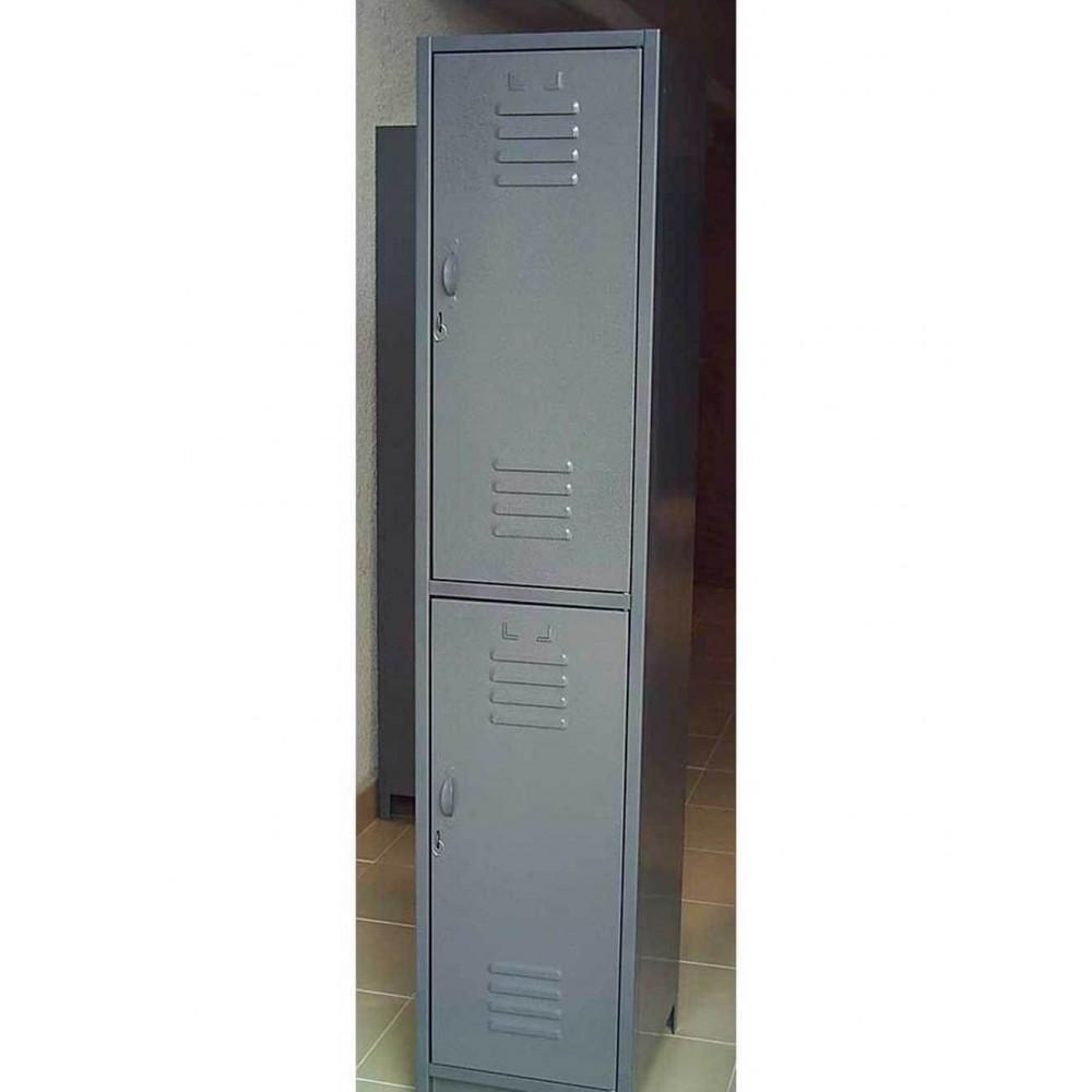 Locker Metalico 2 Puertas 30X30X180