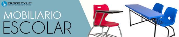 Mobiliario Escolar, Pupitres, Sillas y Mesas Escolares